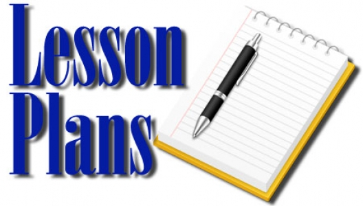 Creating lesson plans while teaching online.