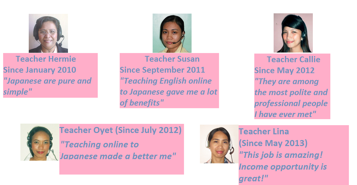 Meet some of our Successful Tutors