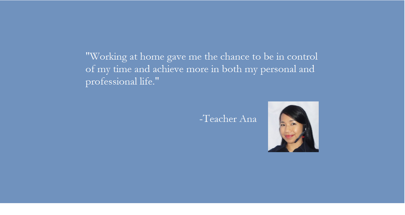Why choose Pinas Group? Teacher Ana's message
