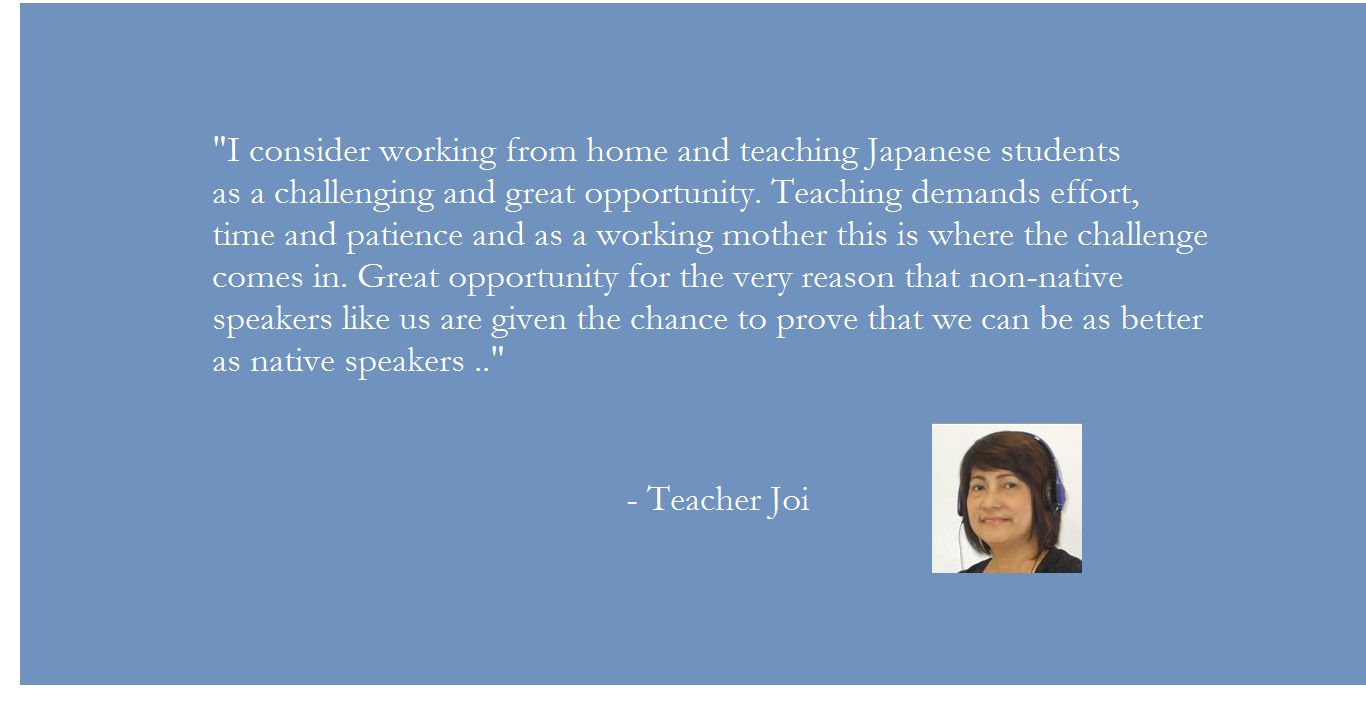 Why choose Pinas Group? Teacher Joi's message