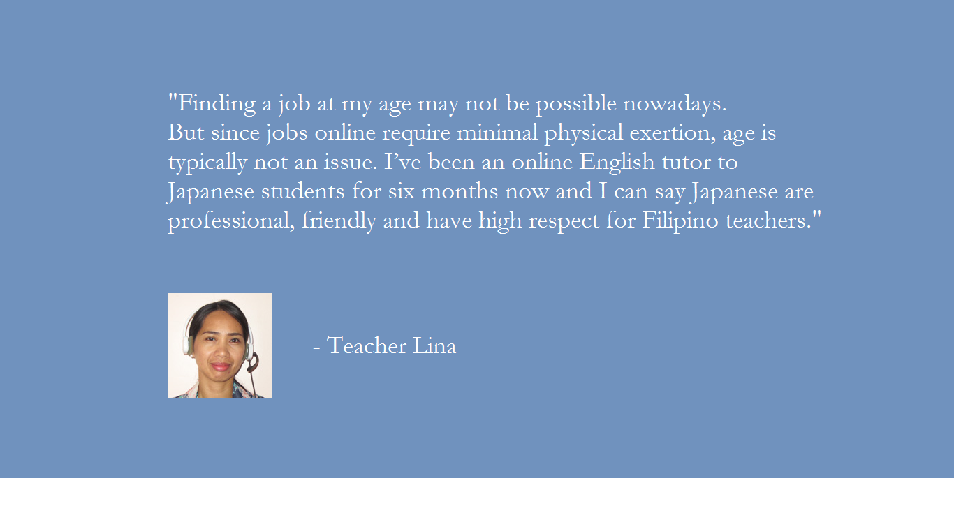 Why choose Pinas Group? Teacher Lina's message
