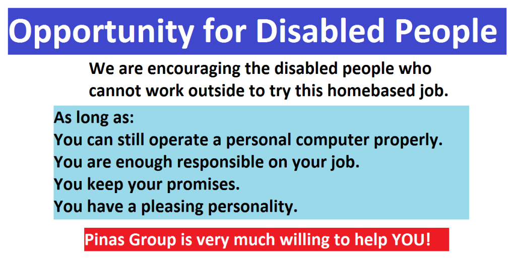 OpportunitytoDisabled