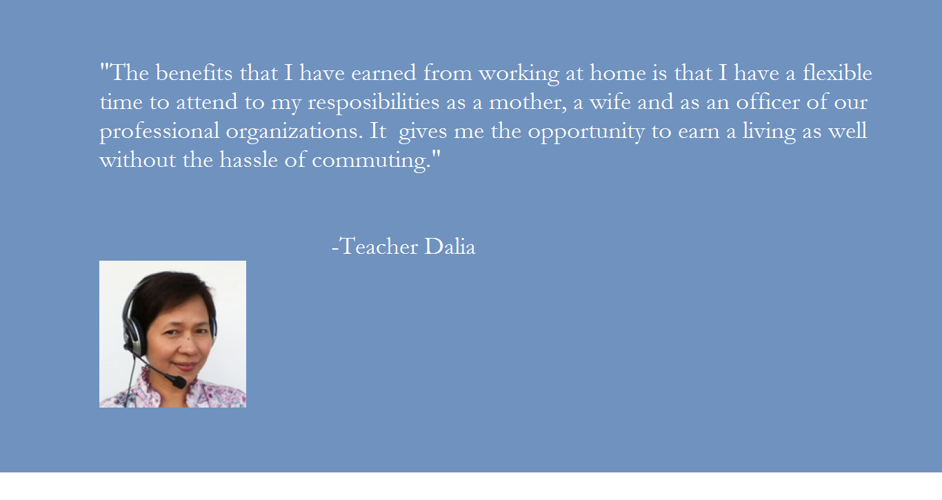 Why choose Pinas Group? Teacher Dalia's message