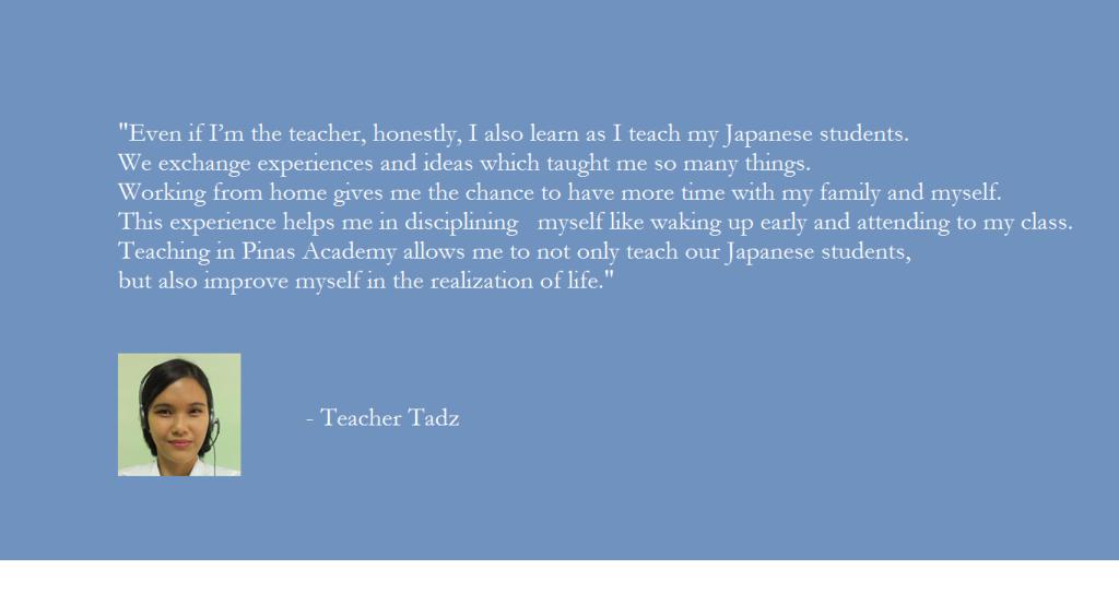 Teacher Tadz