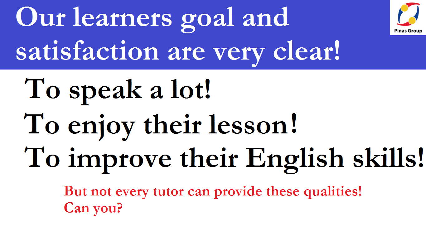 Not every TUTOR can provide these QUALITIES! Can you?