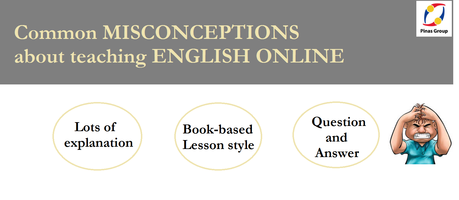 Common Misconceptions about teaching English Online.