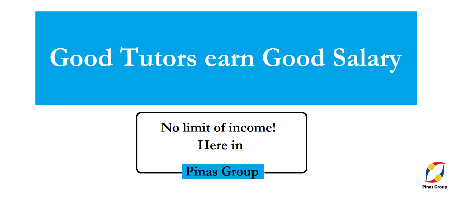 Good Tutors earn Good Salary!