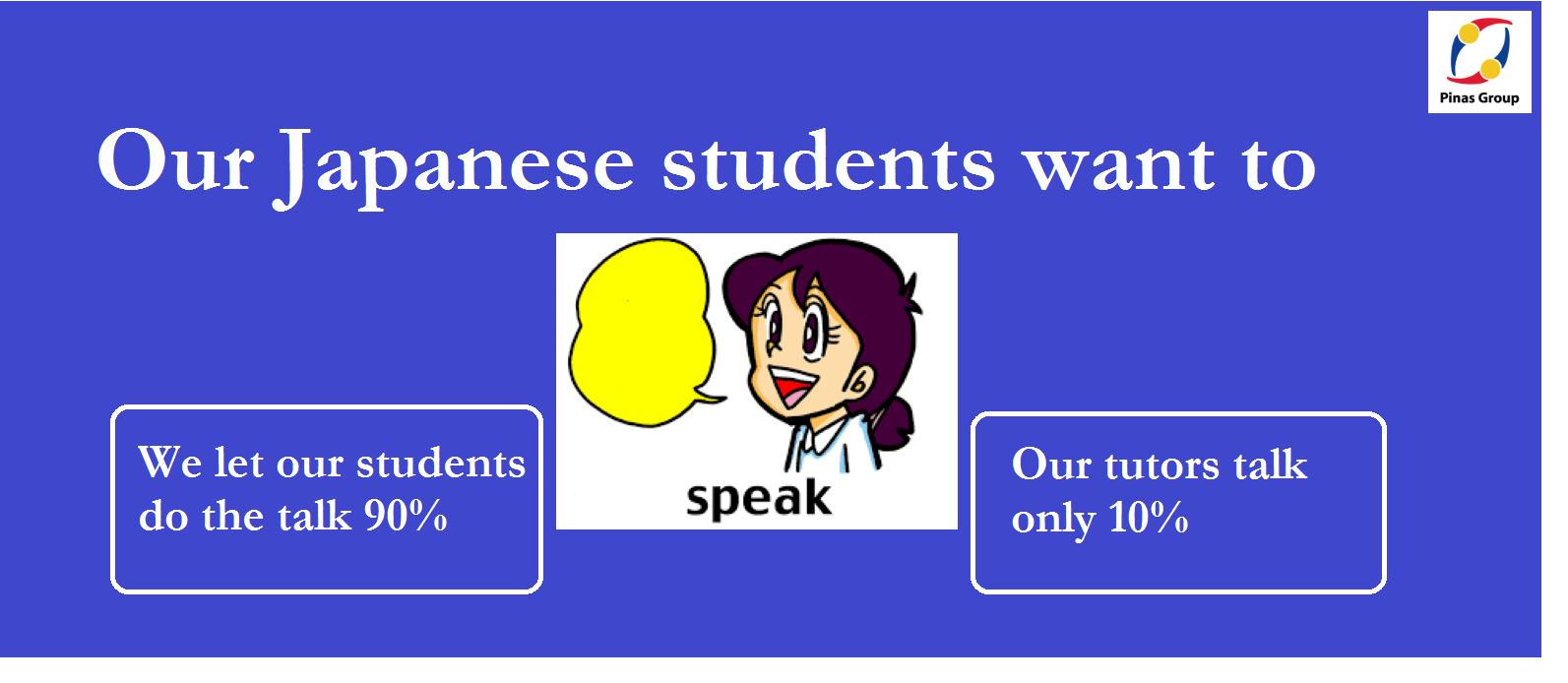 Our students want to SPEAK!