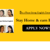 Home based online tutor, positions available