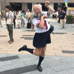 Why Japanese middle-aged men go for girl-he dressed?