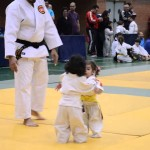 Little Cute Girls' First Judo Fight Is Adorable