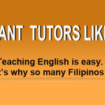 We are helping out of work people.Be our English Tutor